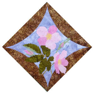 Wildfire Designs Alaska Northern Flora Block 17 Wild Rose