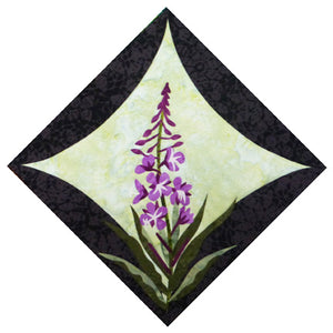 Wildfire Designs Alaska Northern Flora Block 4 Fireweed
