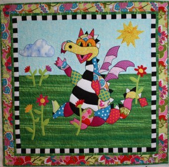BJ Designs & Patterns Snapdragon Applique Quilt Pattern