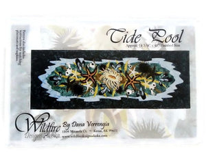 Wildfire Designs Alaska Tide Pool Laser Pre-Cut Pre-Fused Table Runner Applique Quilt Kit with Pattern - Beaverhead Treasures LLC
