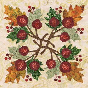 P3 Designs Baltimore Autumn BOM Applique Quilt Pattern Set - Beaverhead Treasures LLC