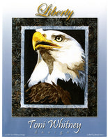 Toni Whitney Design Liberty Applique Quilt Kit with Pattern and Fabric Kit - Beaverhead Treasures LLC