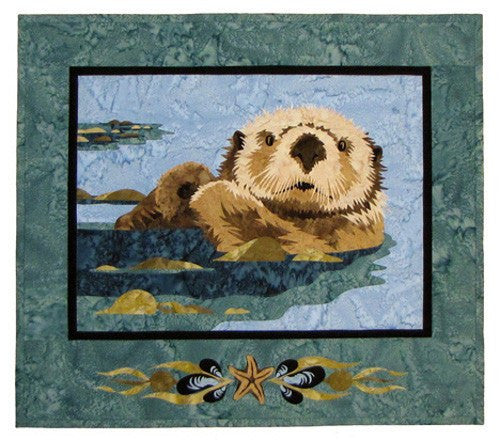 Wildfire Designs Alaska Sea Otter Applique Quilt Pattern - Beaverhead Treasures LLC