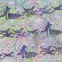 Hoffman Fabrics Abalone Purple Dog Musher Bali Batik Fabric G2208-185-Abalone