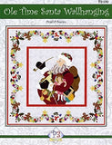 P3 Designs Ole Time Santa Christmas Holiday Applique Quilt Pattern Front Cover