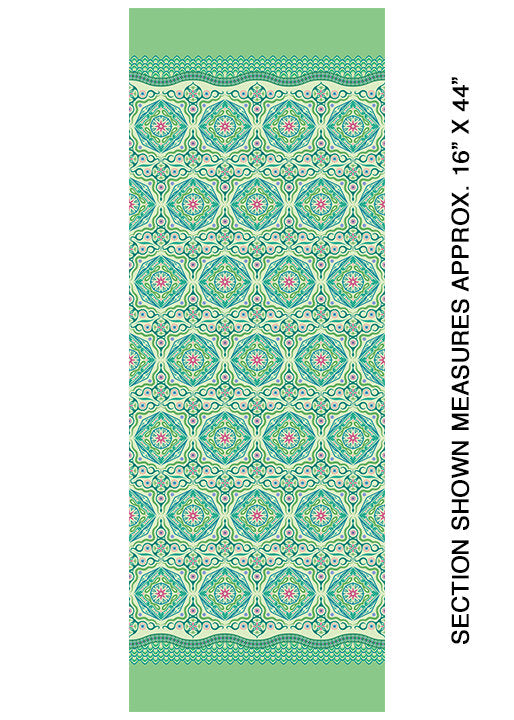 Modern Quilt Studio Dreamy Magic Carpet Green Cotton Fabric 6996-40