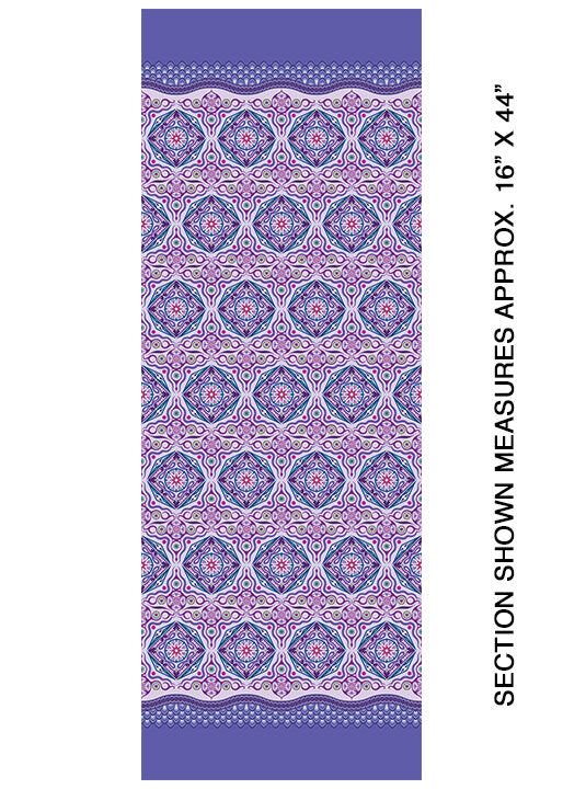 Modern Quilt Studio Dreamy Magic Carpet Lavender Cotton Fabric 6996-36