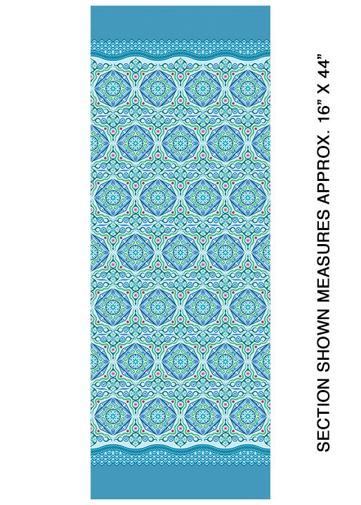 Modern Quilt Studio Dreamy Magic Carpet Blue Cotton Fabric 6996-50
