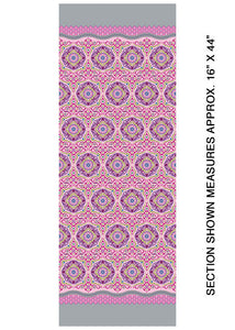 Modern Quilt Studio Dreamy Magic Carpet Pink Cotton Fabric 6996-01