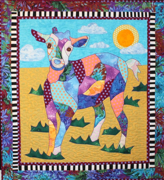 BJ Designs & Patterns Billy the Goat Applique Quilt Pattern