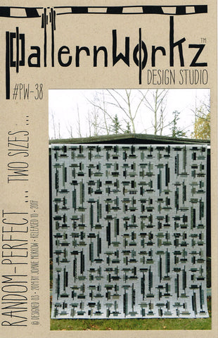 Patternworkz Random Perfect Fat Quarter Friendly Quilt Pattern