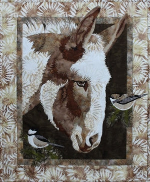 Toni Whitney Design Matilda Donkey Applique Quilt Kit