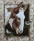 Toni Whitney Design Matilda Donkey Applique Quilt Pattern