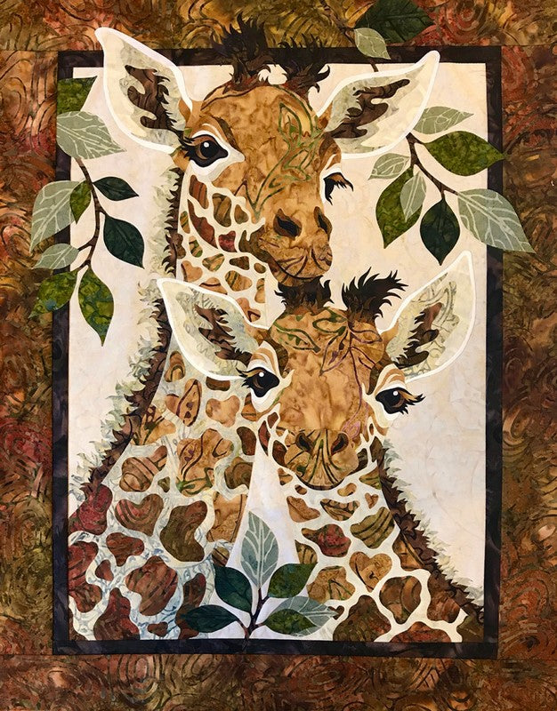 Toni Whitney Design Sweet Hearts Giraffe Applique Quilt Pattern