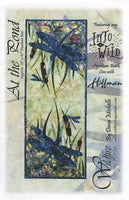 Wildfire Designs Alaska At The Pond Dragonfly Table Runner Applique Quilt Pattern Front Cover