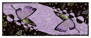 Wildfire Designs Alaska Butterflies Table Runner Applique Quilt Pattern