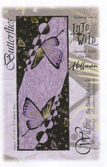 Wildfire Designs Alaska Butterflies Table Runner Applique Quilt Pattern Front Cover
