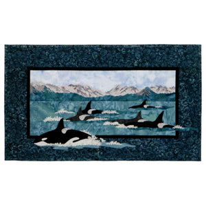 Wildfire Designs Alaska Leader of the Pod Orca Whale Laser Kit
