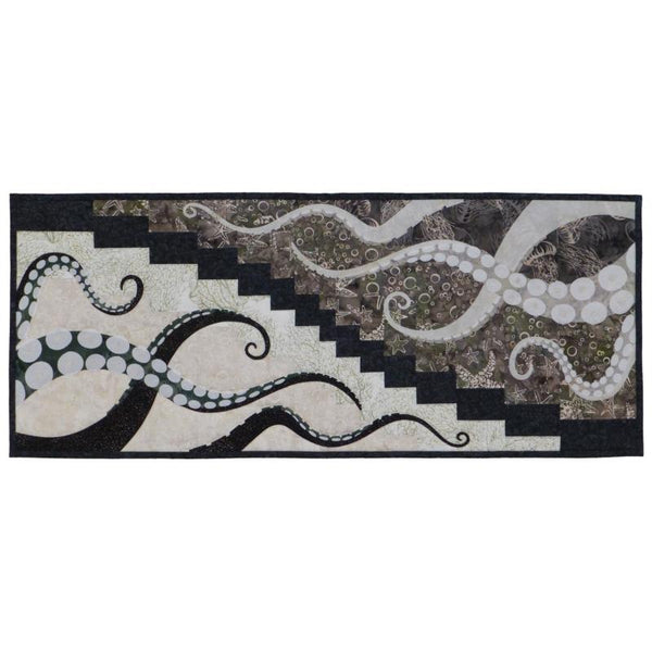 Wildfire Designs Alaska Octopus Attract Applique Quilt Pattern
