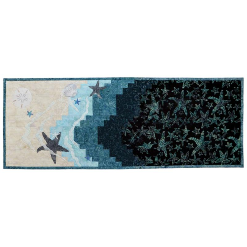 Wildfire Designs Alaska Shoreline Starfish Applique Quilt Pattern