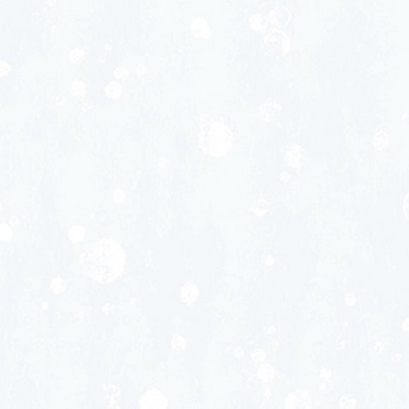 Clothworks Winter Love Snowballs on White Cotton Fabric Y2502-116