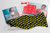 Image of Big Black Cheese Bow Tie