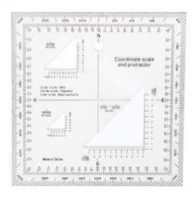 Coordinate Scale Protractor