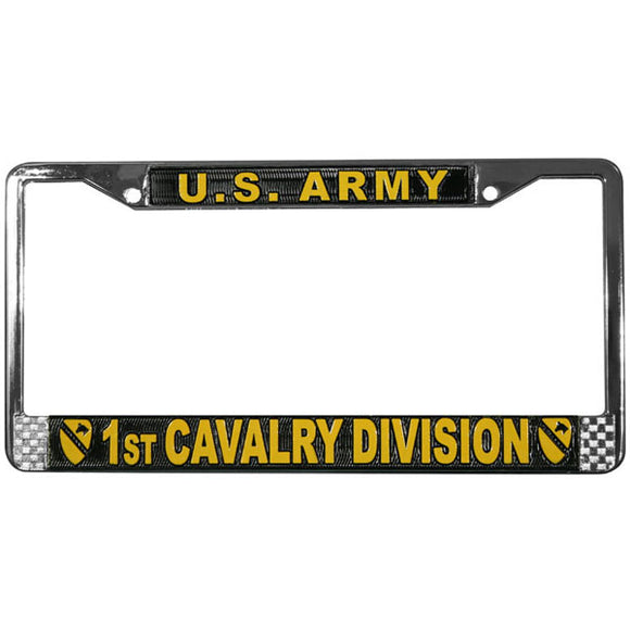 1st Cavalry License Plate Frame