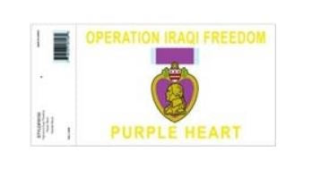 Purple Heart Operation Iraqi