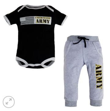 Army Infant 2pc Jogger Set