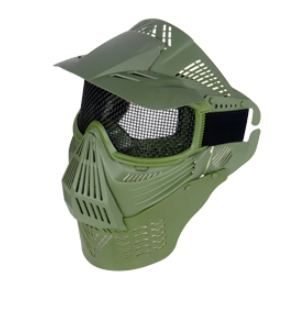 Tac Gear Mesh Full Face Mask w Neck Pro. - OD