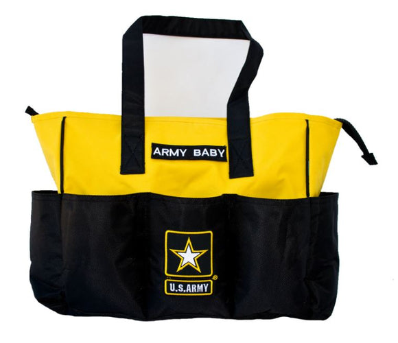 Army Diaper Bag w Changing Pad