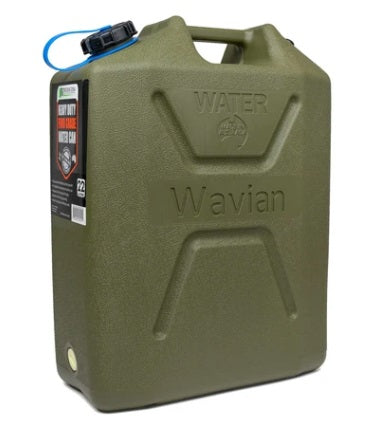 Plastic Water Can 5.8 Gal