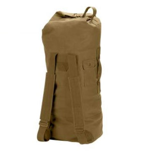 Canvas Double Strap Duffle Bag