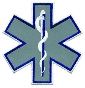 Star of Life Reflective Patch