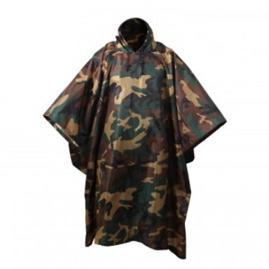 G.I. Type Military Poncho