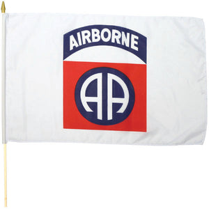 82nd Airborne Stick Flag