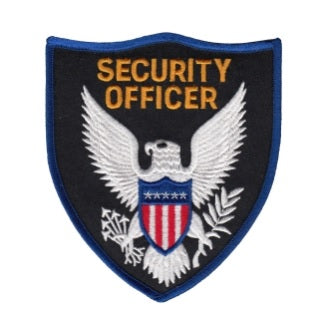 Security Officer Shoulder Patch