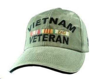 Vietnam Veteran Cap - Washed OD