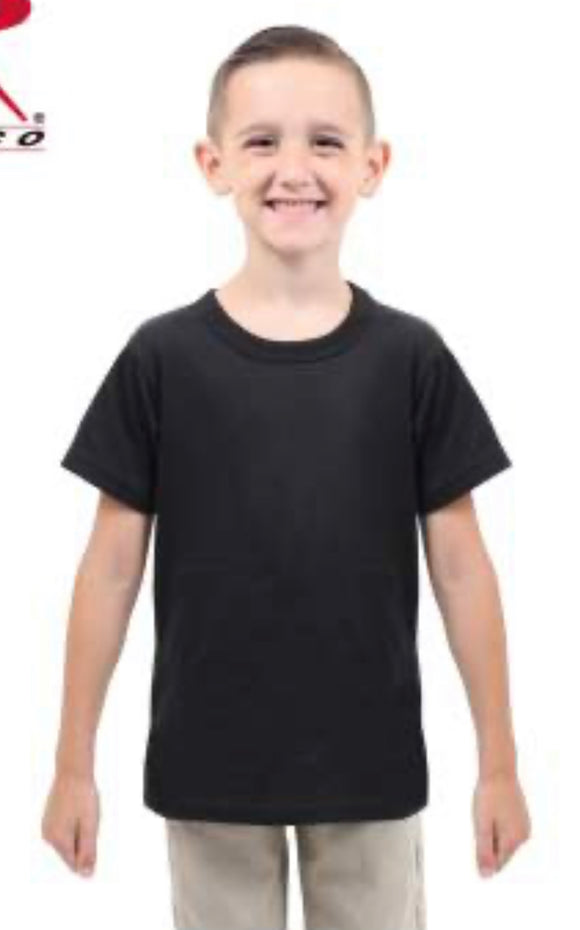 Kids Solid T-Shirts