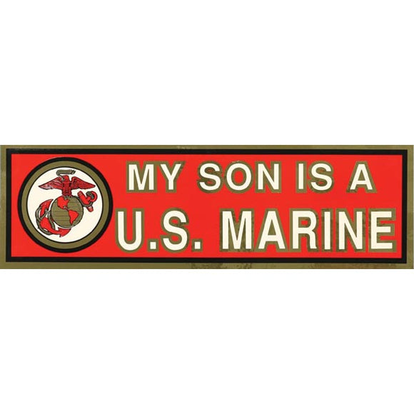 Bumper Sticker My Son Marine
