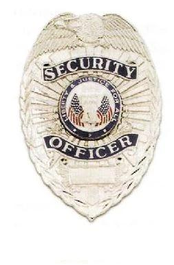 Security Officer Shield Badge