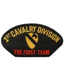 HAT PATCH 1ST CAVALRY