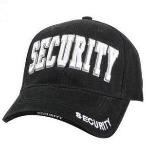 Low Profile Security Cap White Letters