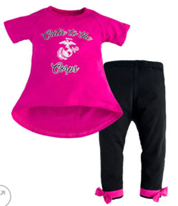 Cutie to the Corps Legging Set
