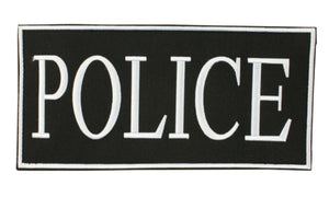 "Police Patch w/ Velcro 2"" x 4"""