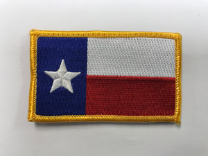 Texas Flag Patch w Velcro