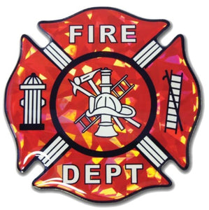 Firefighter Decal Reflective