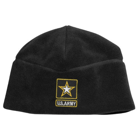 Us Army Star Fleece Beanie