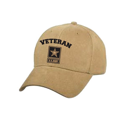 US Army Star Veteran Cap